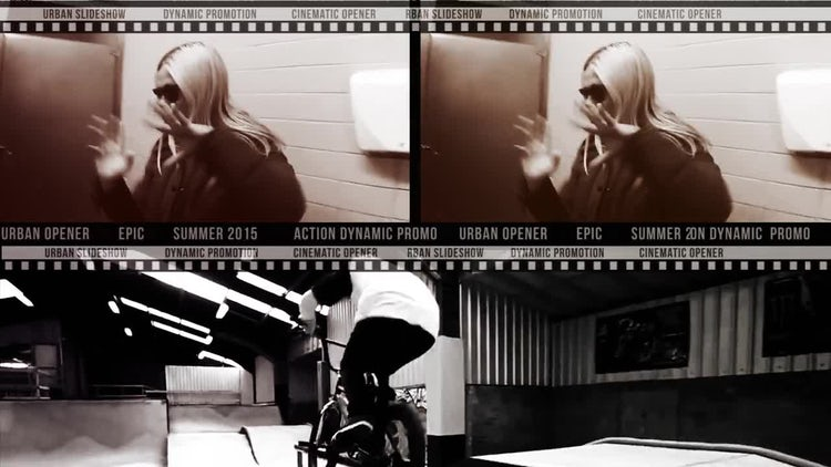 Urban Dynamic Slideshow: After Effects Templates