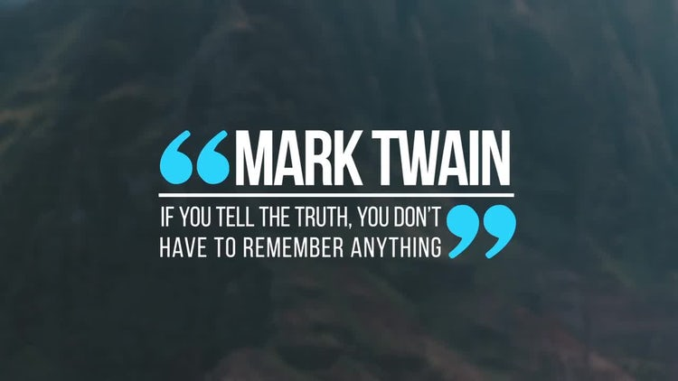 Quotes: After Effects Templates