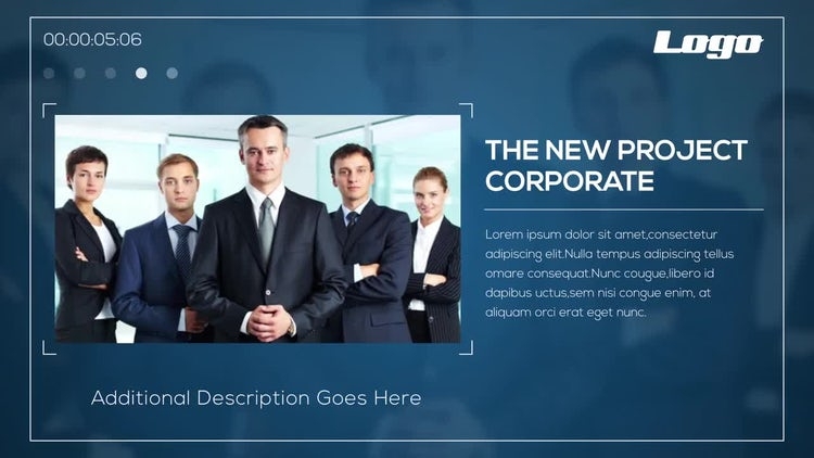 Modern Corporate Opener: After Effects Templates