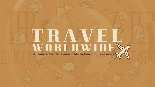 Travel Worldwide: After Effects Templates