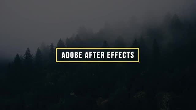 Simple Titles 10: After Effects Templates