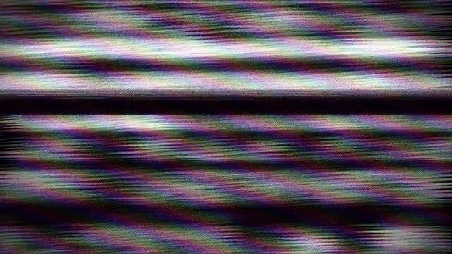 Glitch Bad TV: Stock Motion Graphics