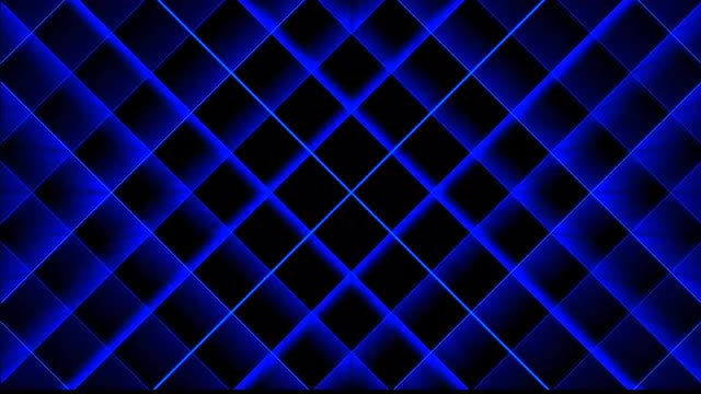Blue Grid: Stock Motion Graphics