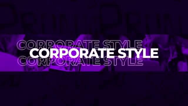 Corporate Style Short Intro: Premiere Pro Templates