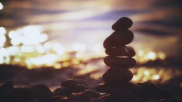 Cairn Of Stones: Stock Video