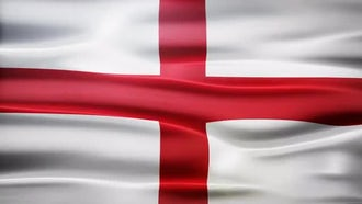 England Flag: Motion Graphics