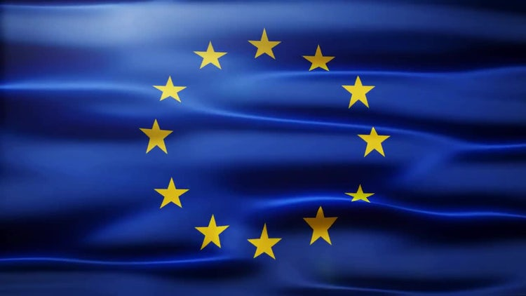 EU Flag: Motion Graphics