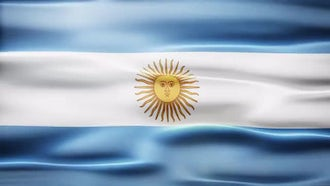 Argentina Flag: Motion Graphics