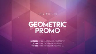 Geometric Promo: After Effects Templates