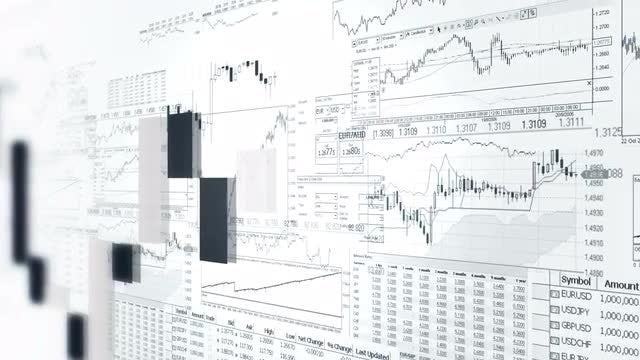 Finance Bar Graphs: Stock Motion Graphics