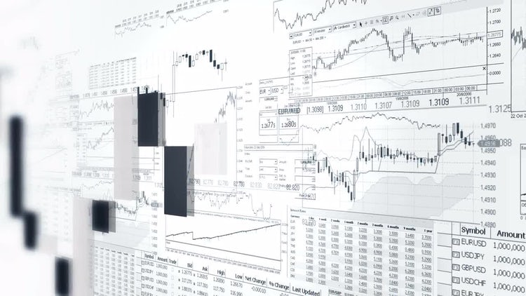 Finance Bar Graphs: Motion Graphics