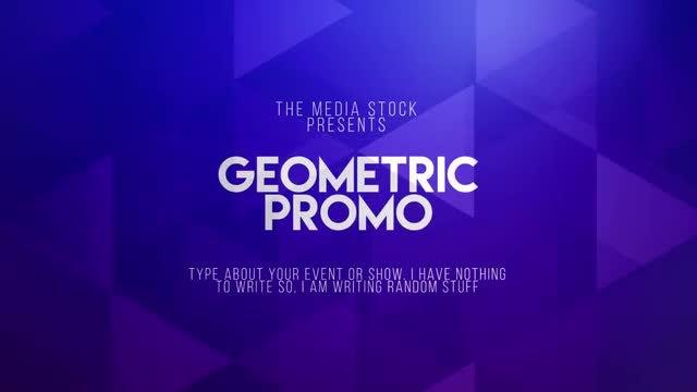 Geometric Promo: Premiere Pro Templates