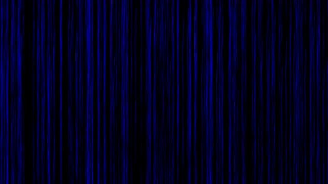 Wall Of Blue Lines: Stock Motion Graphics