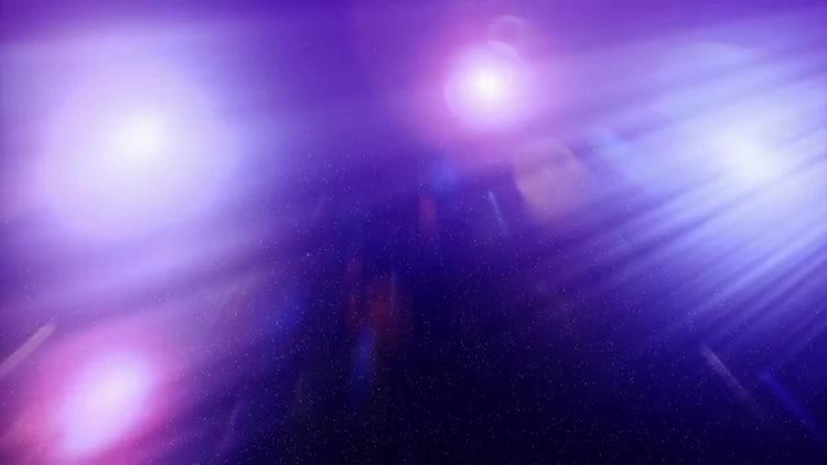Purple Lights Background: Stock Motion Graphics