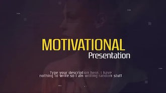 Motivational Presentation: Premiere Pro Templates