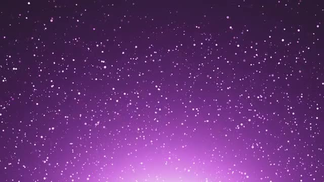 Glitter Purple Particles: Stock Motion Graphics