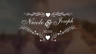 Wedding Titles V2: After Effects Templates