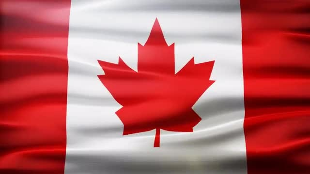 Canada Flag: Stock Motion Graphics