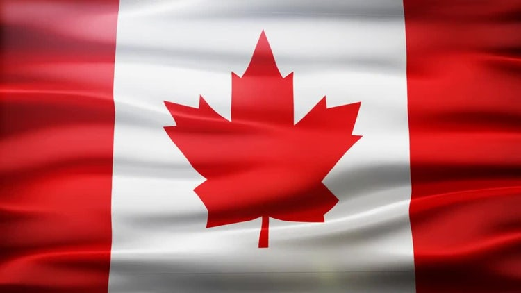 Canada Flag: Motion Graphics