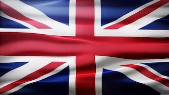 Great Britain Flag: Motion Graphics