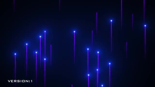 Particles Trails Background: Stock Motion Graphics
