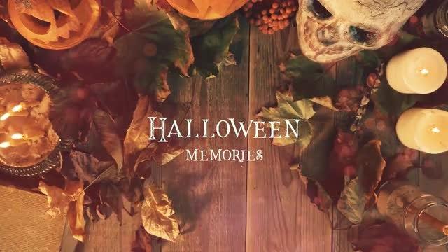 Halloween Memories: After Effects Templates