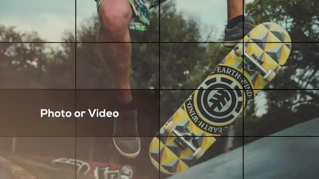 Elegant Grid - Photo Slideshow: Final Cut Pro Templates
