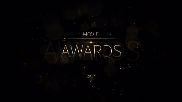 Movie Awards: After Effects Templates