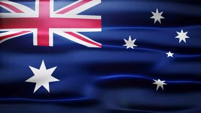 Australia Flag: Stock Motion Graphics