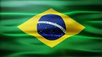 Brazil Flag: Motion Graphics