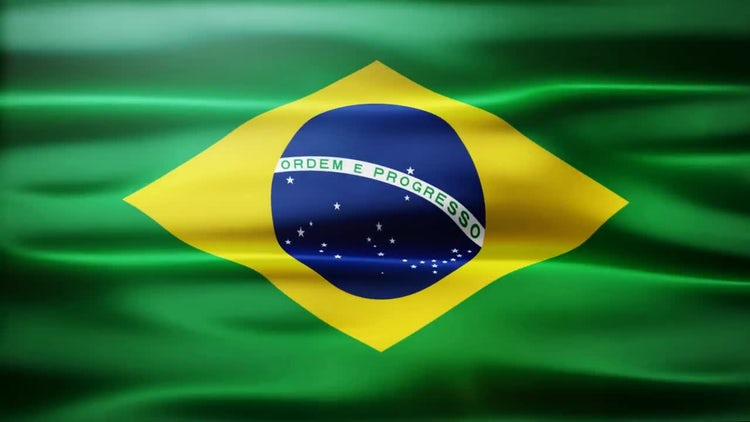 Brazil Flag: Stock Motion Graphics