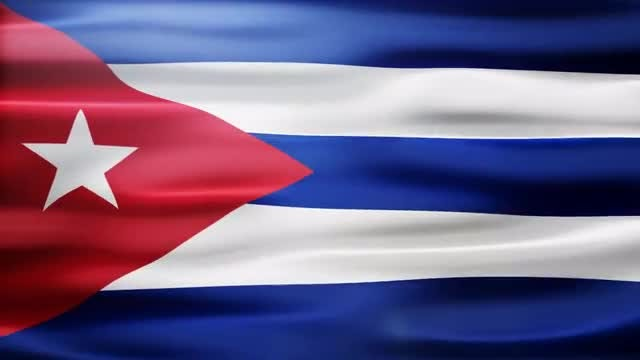 Cuba Flag: Stock Motion Graphics