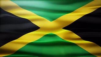 Jamaica Flag: Motion Graphics
