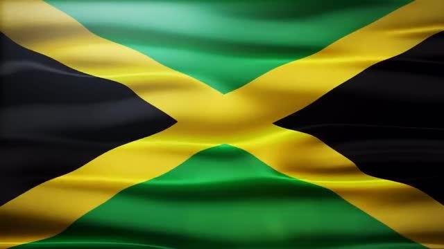 Jamaica Flag: Stock Motion Graphics