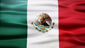 Mexico Flag: Motion Graphics