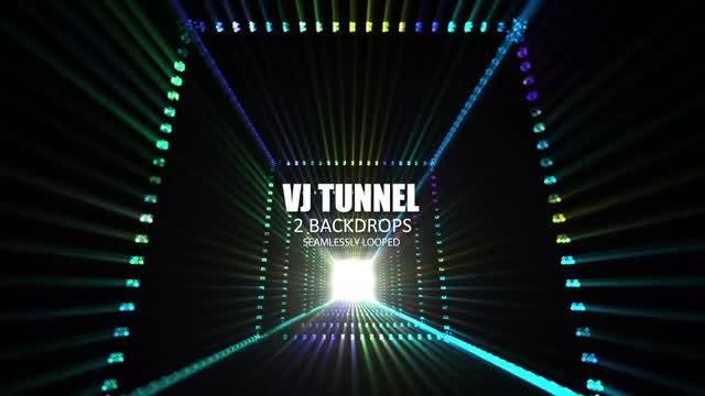 VJ Tunnel: Stock Motion Graphics