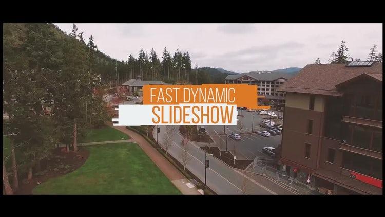 Fast Dynamic Slideshow: Premiere Pro Templates