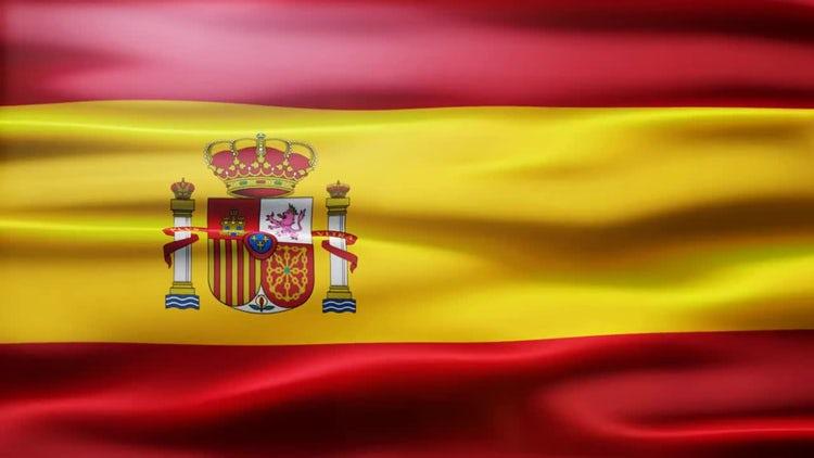 Spain Flag: Motion Graphics