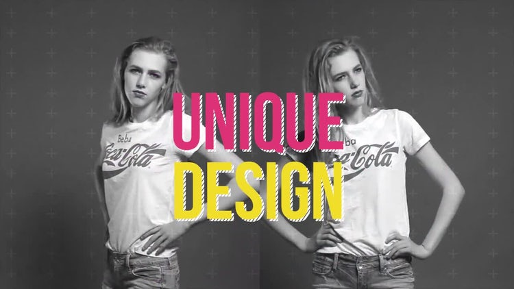Dynamic Typo Opener: After Effects Templates
