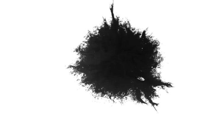Ink Blot 03: Stock Video