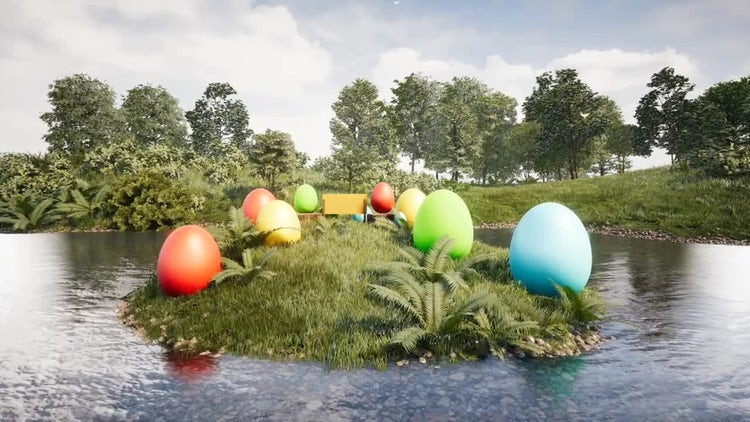 Easter: Stock Motion Graphics