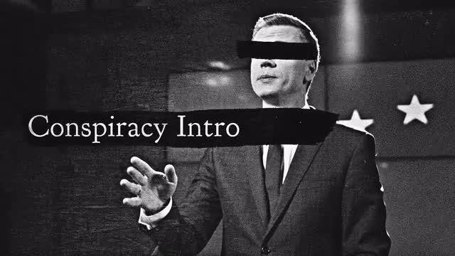 Conspiracy Intro: Premiere Pro Templates