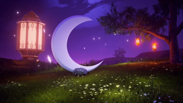 Ramadan Background: Motion Graphics