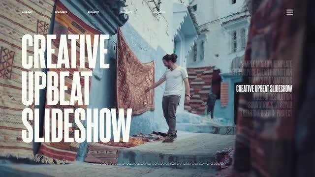 Creative Upbeat Opener: Premiere Pro Templates