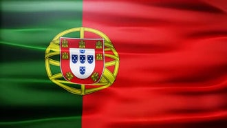 Portugal Flag: Motion Graphics
