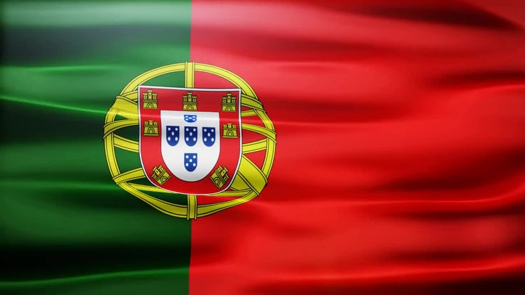 Portugal Flag: Stock Motion Graphics