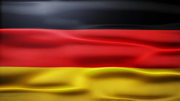 Germany Flag: Stock Motion Graphics