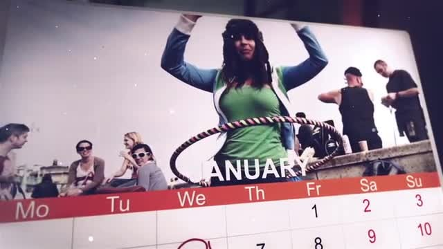 Calendar Promo: After Effects Templates