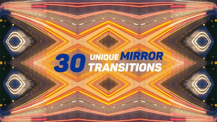 Mirror Transitions: Premiere Pro Templates