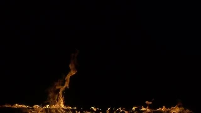 Slow motion of fire: Stock Video